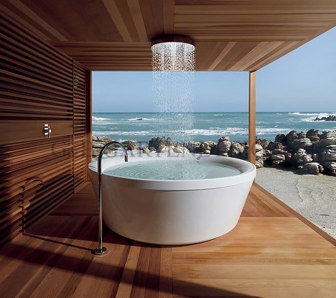 pavillon gartensauna whirlpool g b gartendesign. Black Bedroom Furniture Sets. Home Design Ideas
