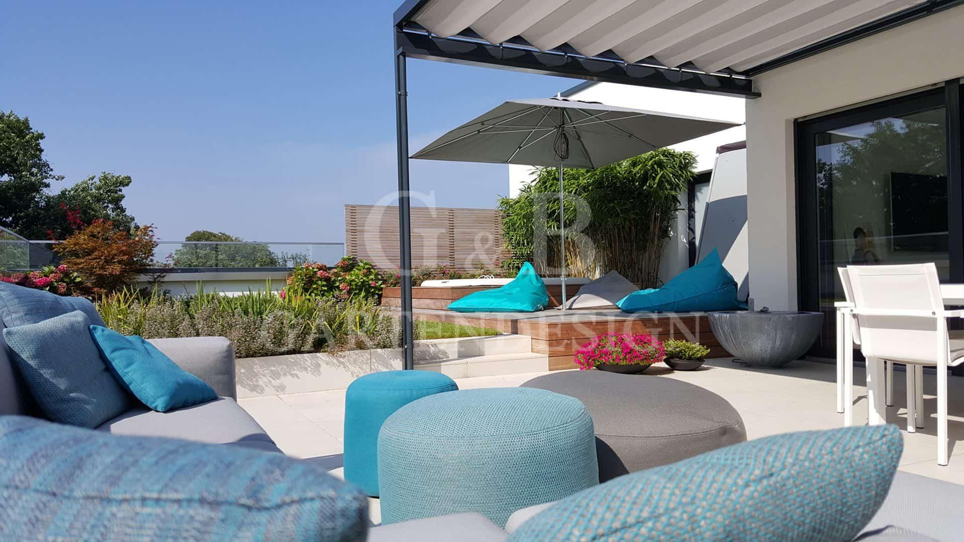 dachterrassen terrassengestaltungen gempp gartendesign. Black Bedroom Furniture Sets. Home Design Ideas