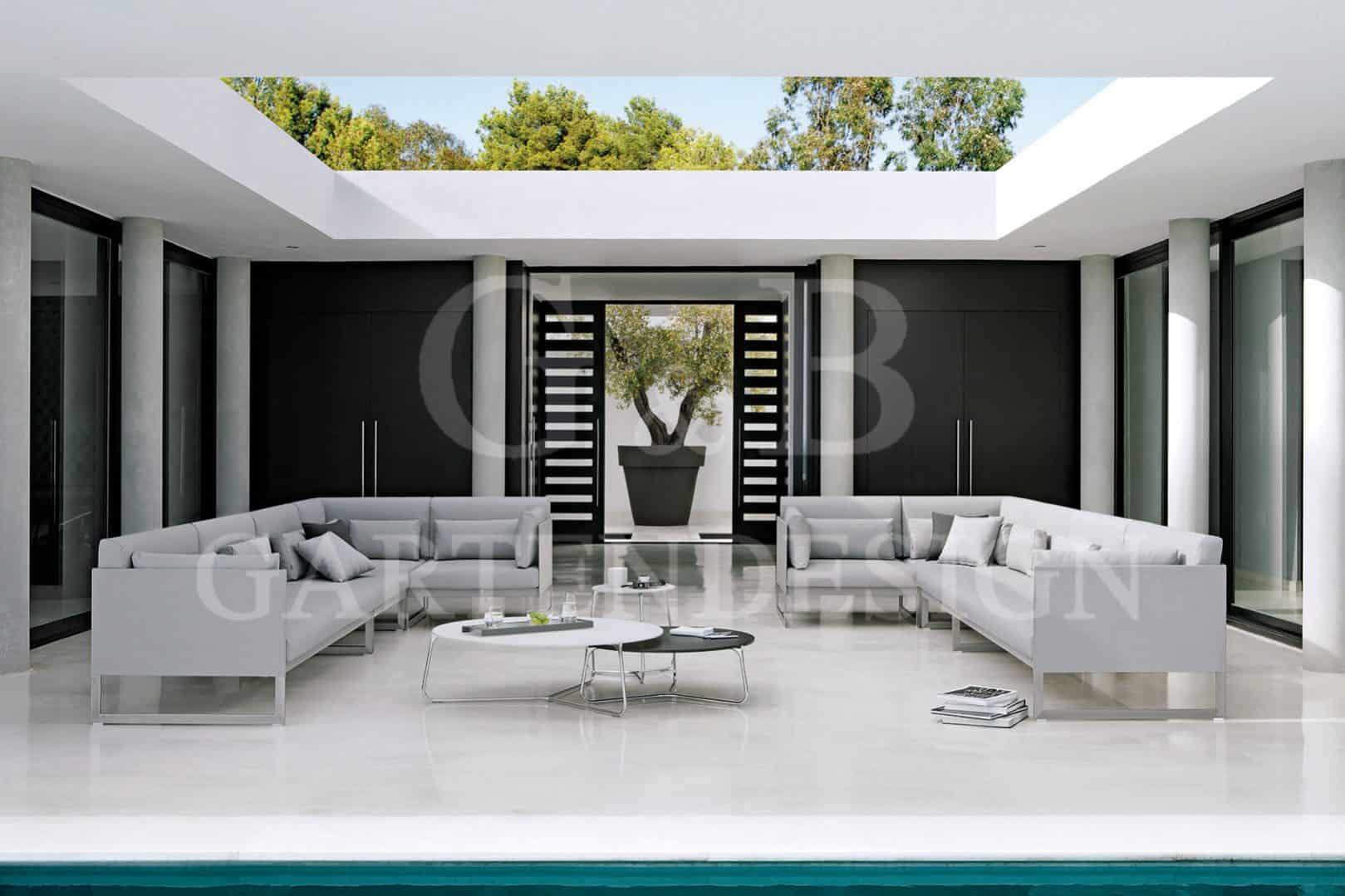 exklusive gartenm bel gempp gartendesign. Black Bedroom Furniture Sets. Home Design Ideas
