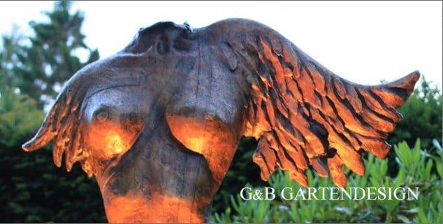 Bronzeskulptur für Garten und Wohnbereich