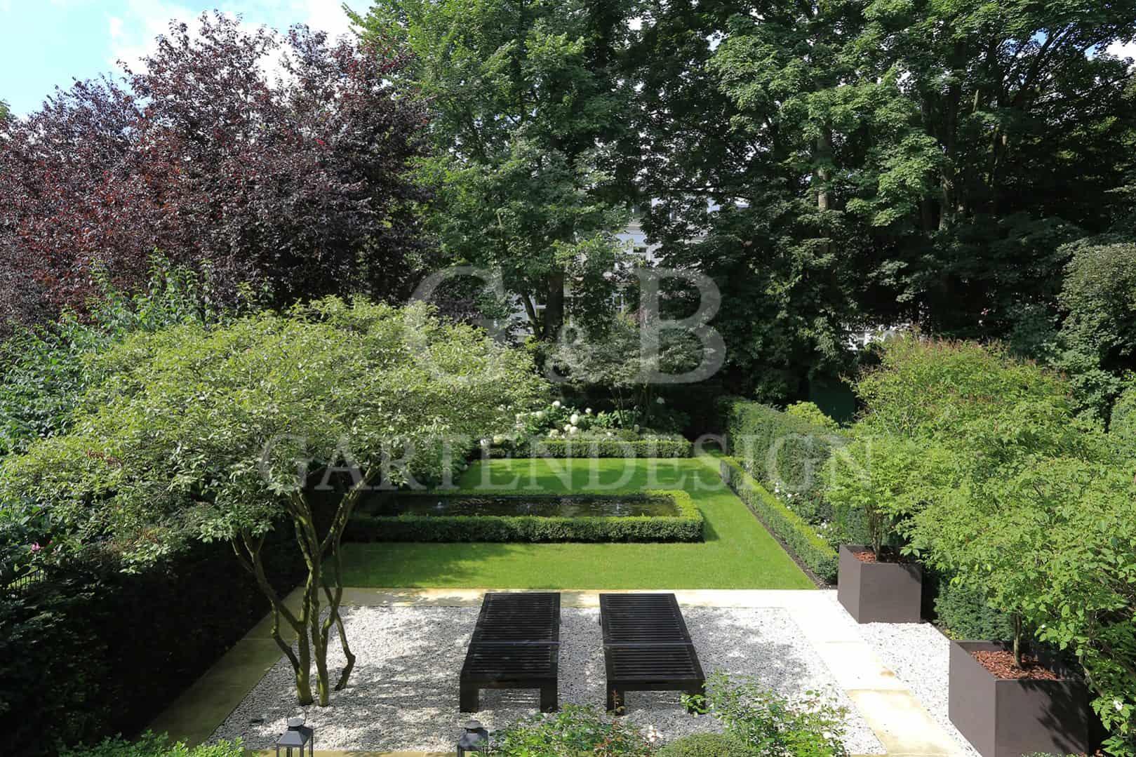 Villengarten, Designgarten, modern, Gartendesign