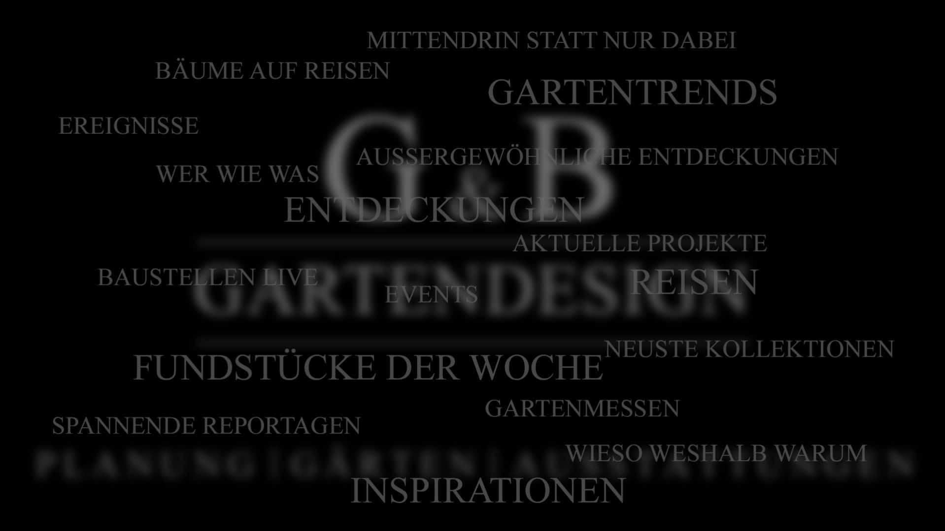 Gartenblog / Gartentrends