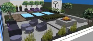 3D Planer Planung Gartenplanung Landschaftsarchitekt Gartenarchitekt Gartengestaltung