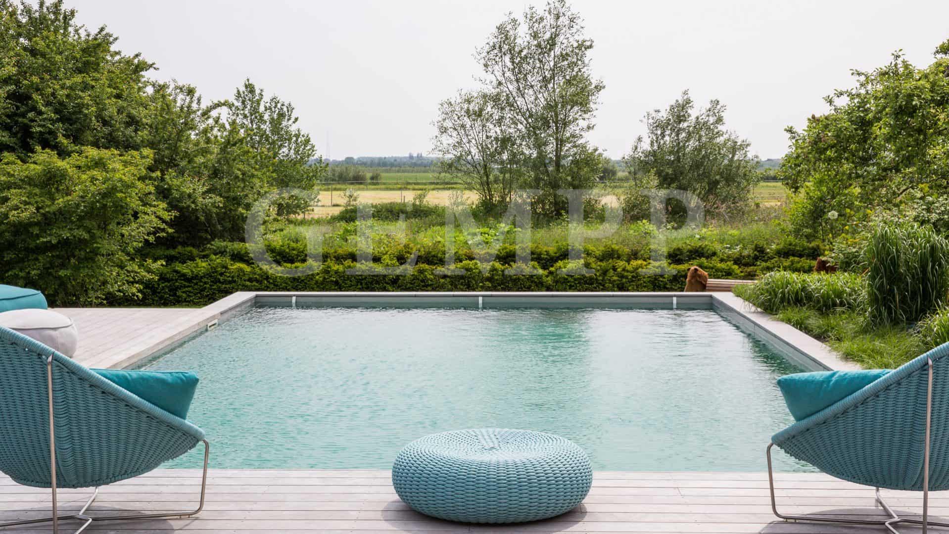 Gartenplanung mit Pool / Schwimmteich
