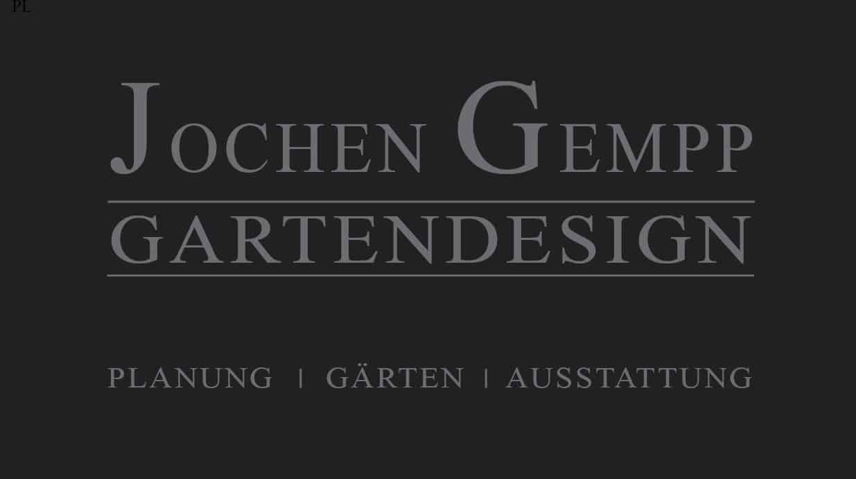Jochen Gempp GArtendesign Hamburg Stuttgart Zürich
