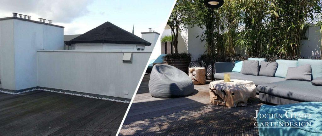 Dachterrassengestaltung Terrassengestaltung Dachgarten Penthousegarten Rooftop Bilder Ideen Tipps