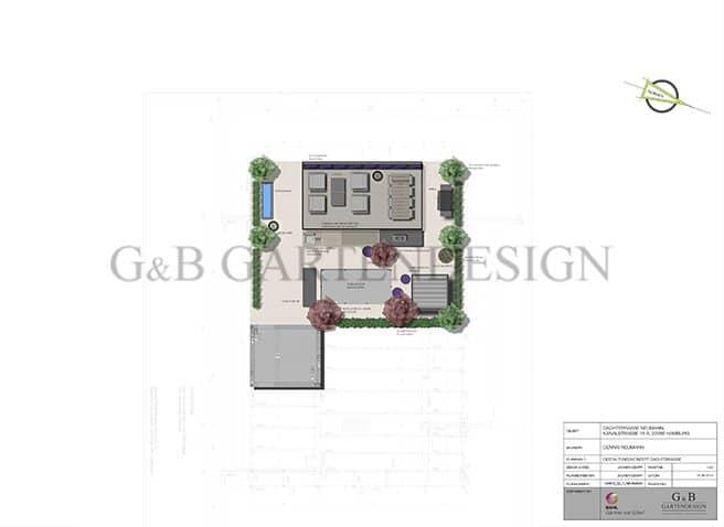 Dachterrassenplanung planen