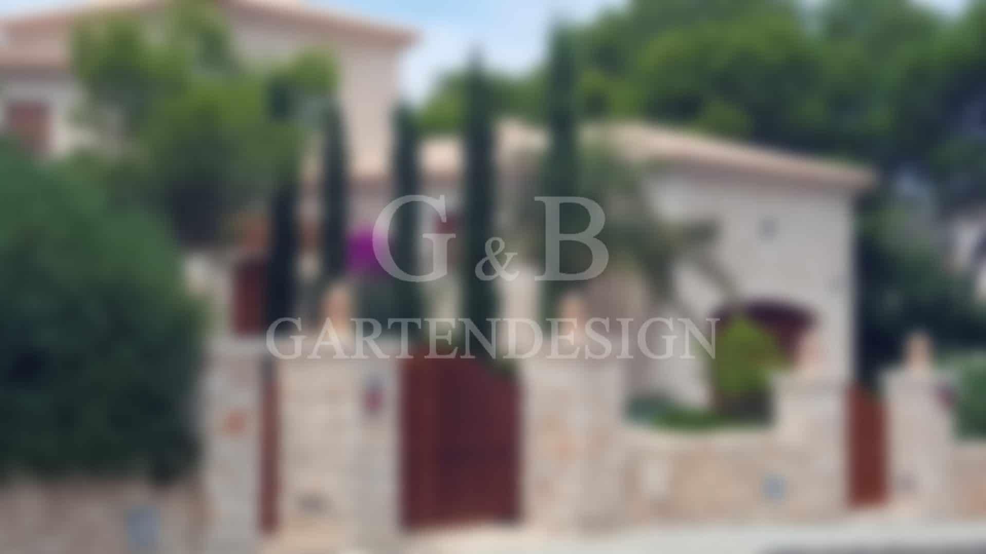 Villengarten Mallorca Ibiza Ballearen Gartengestaltung Gartenplanung