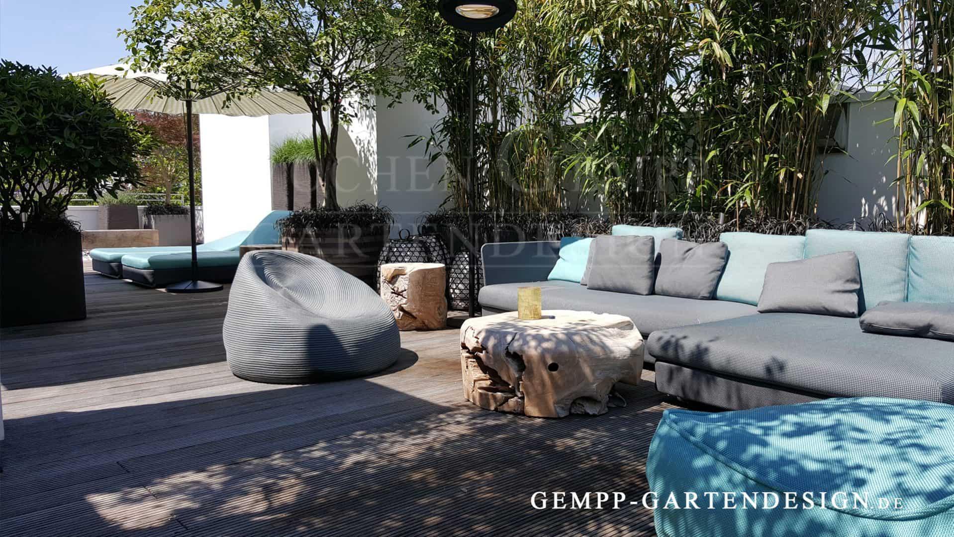 Terrassenmöbel lounge modern  EXKLUSIVE GARTENMÖBEL | Gempp Gartendesign