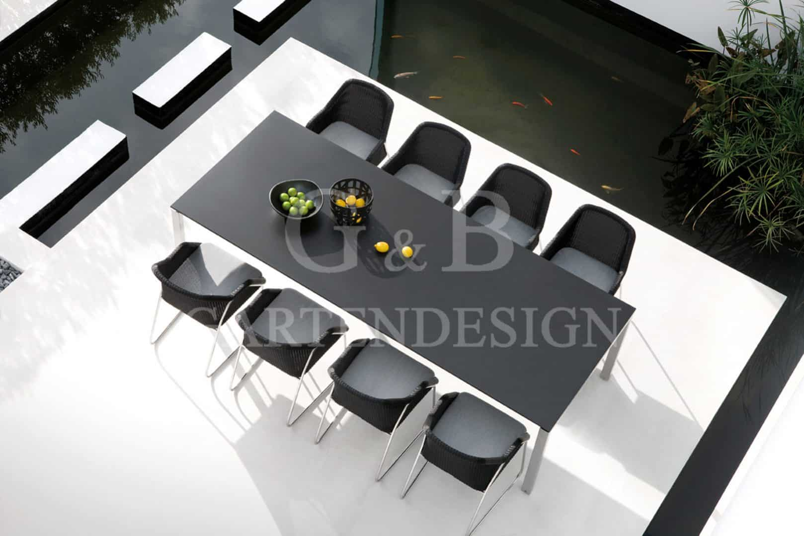 exklusive gartenm bel gempp gartendesign. Black Bedroom Furniture Sets. Home Design Ideas