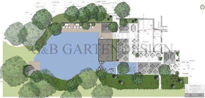 gartenarchitekt planung terrassen restaurant