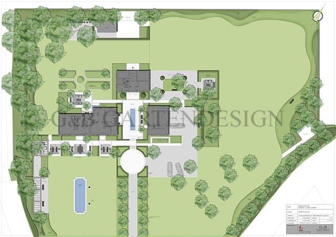 gartenplanung landschaftsarchitekt gartenplan