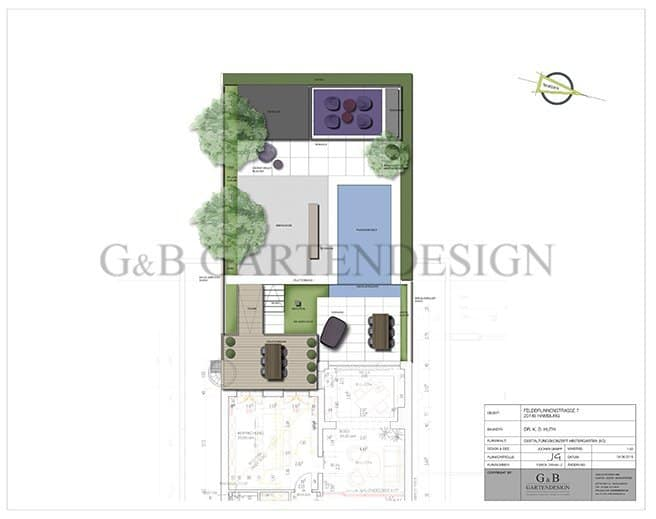 stadthaus villa hamburg gempp gartendesign. Black Bedroom Furniture Sets. Home Design Ideas