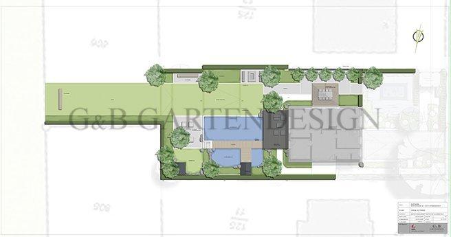 Garten mit Schwimmteich Schwimmteichplanung