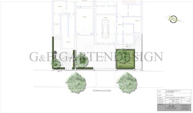 gartengestaltung planung vordergarten