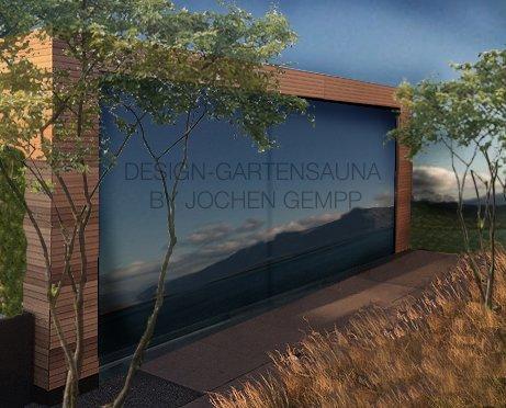 Design-Gartensauna by Jochen Gempp