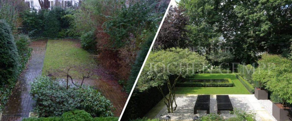 Vorher Nachher Bilder Garten Gempp Gartendesign