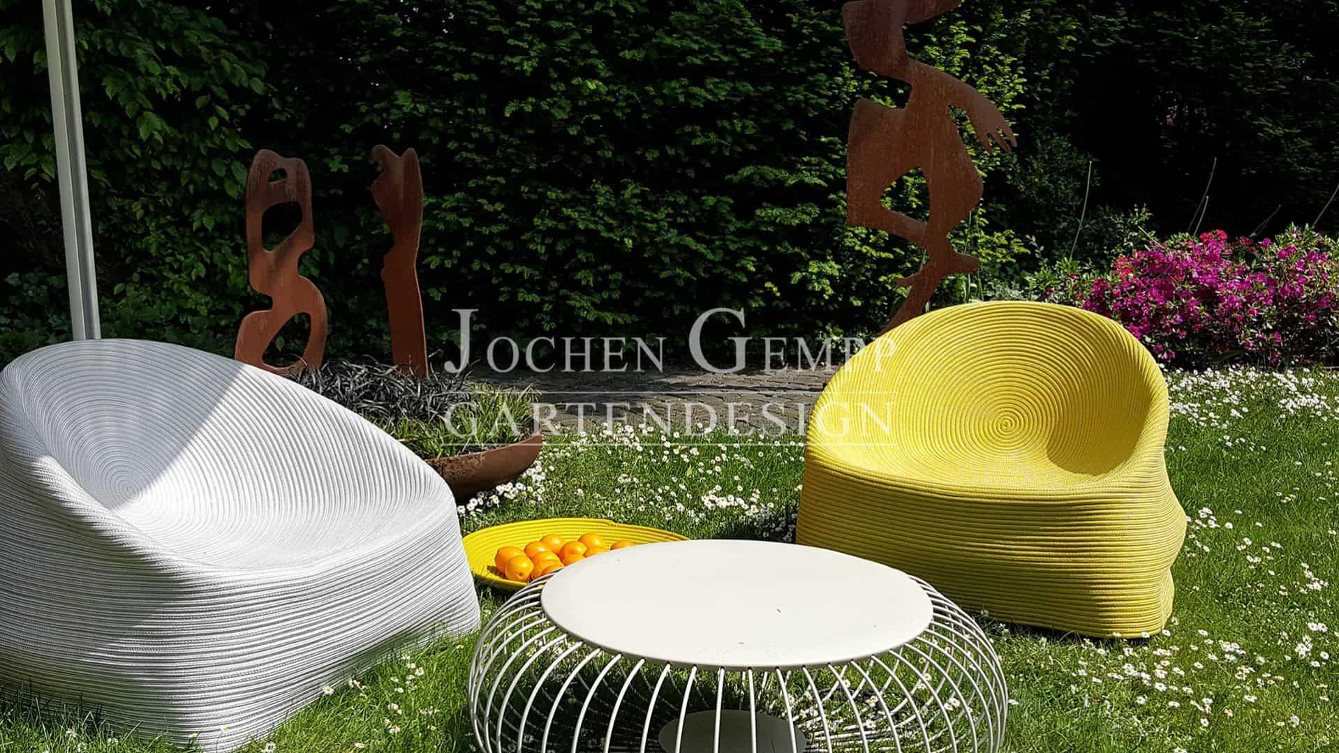 zeitloser skulpturengarten gartengestaltung hamburg gempp gartendesign. Black Bedroom Furniture Sets. Home Design Ideas