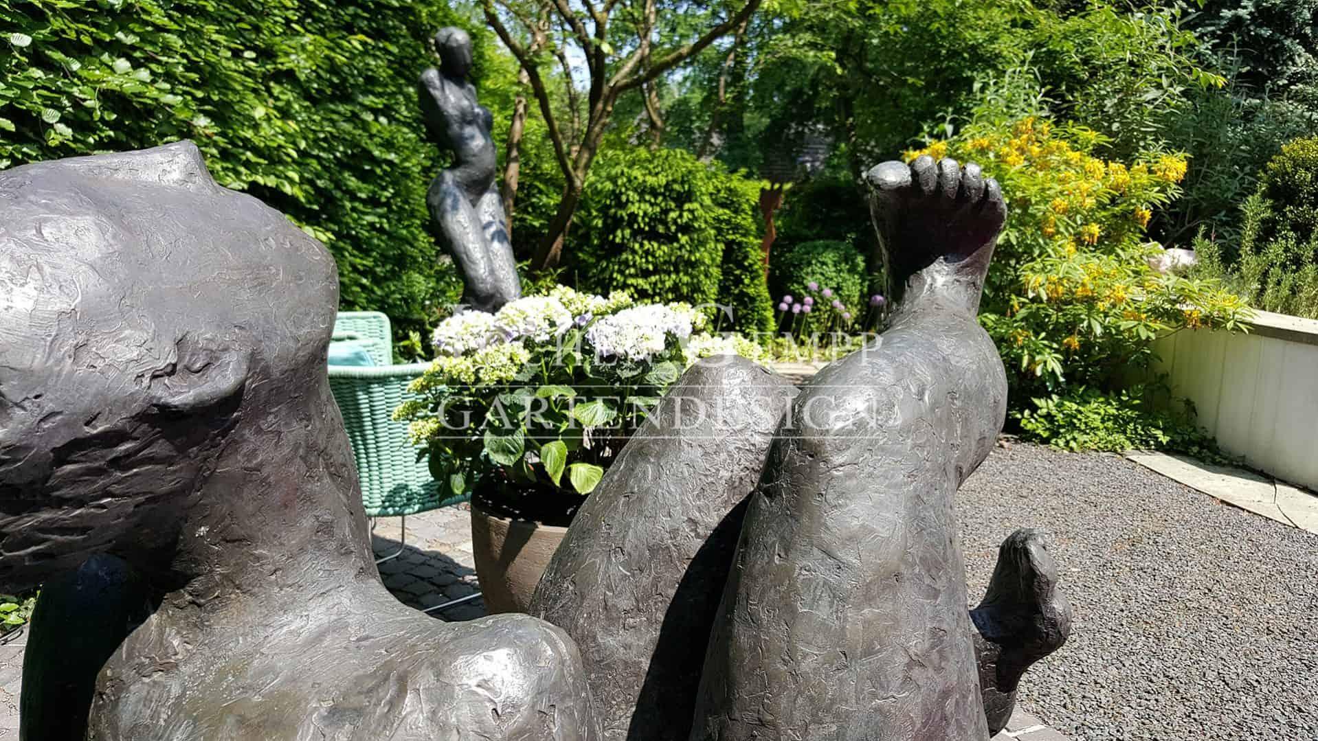 skulpturengarten hamburg | gempp gartendesign, Garten ideen