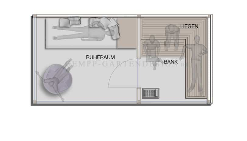 awesome au ensauna mit vorraum images thehammondreport. Black Bedroom Furniture Sets. Home Design Ideas