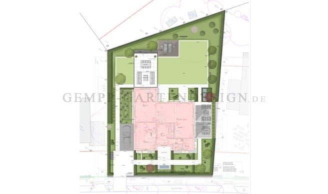 Gartenplanung Villengarten Dachterrasse Penthouse Berlin