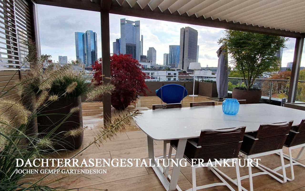 Dachterrassenplanung Dachterrassengestaltung Gartengestaltung Frankfurt Hessen