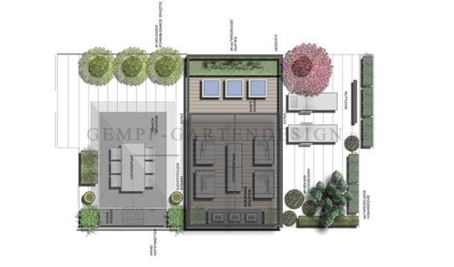 Terrassengestaltung Dachterrassengestaltung Frankfurt Hessen