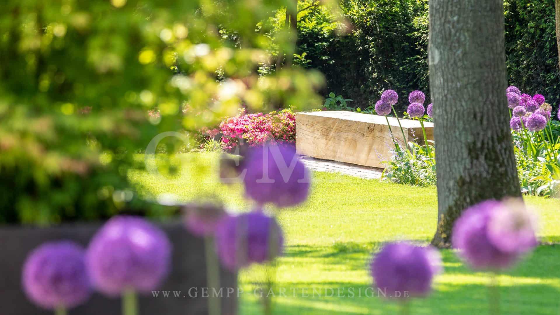 Moderne Gartenplanung & Gartengestaltung Privatgarten Stadtvilla mit Swimmingpool