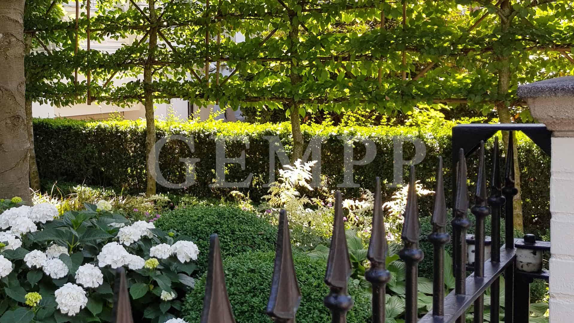 Elegante Vorgartengestaltung Moderne Gartengestaltung Stadtvilla