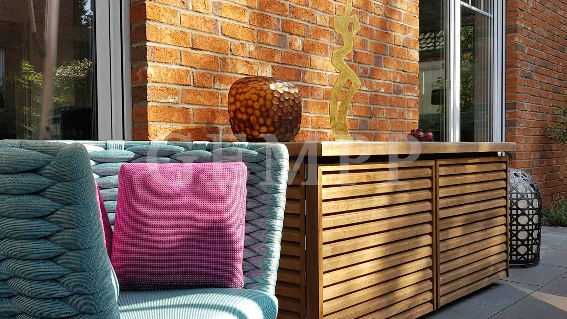 Moderne Terrassengestaltung Gempp Gartendesign