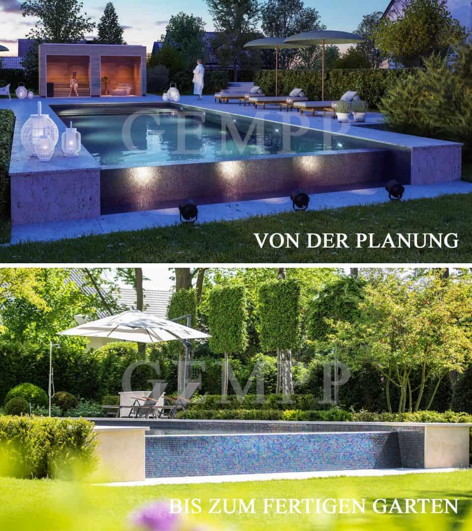 Von der Gartenplanung zur fertigen Gartengestaltung Bilder