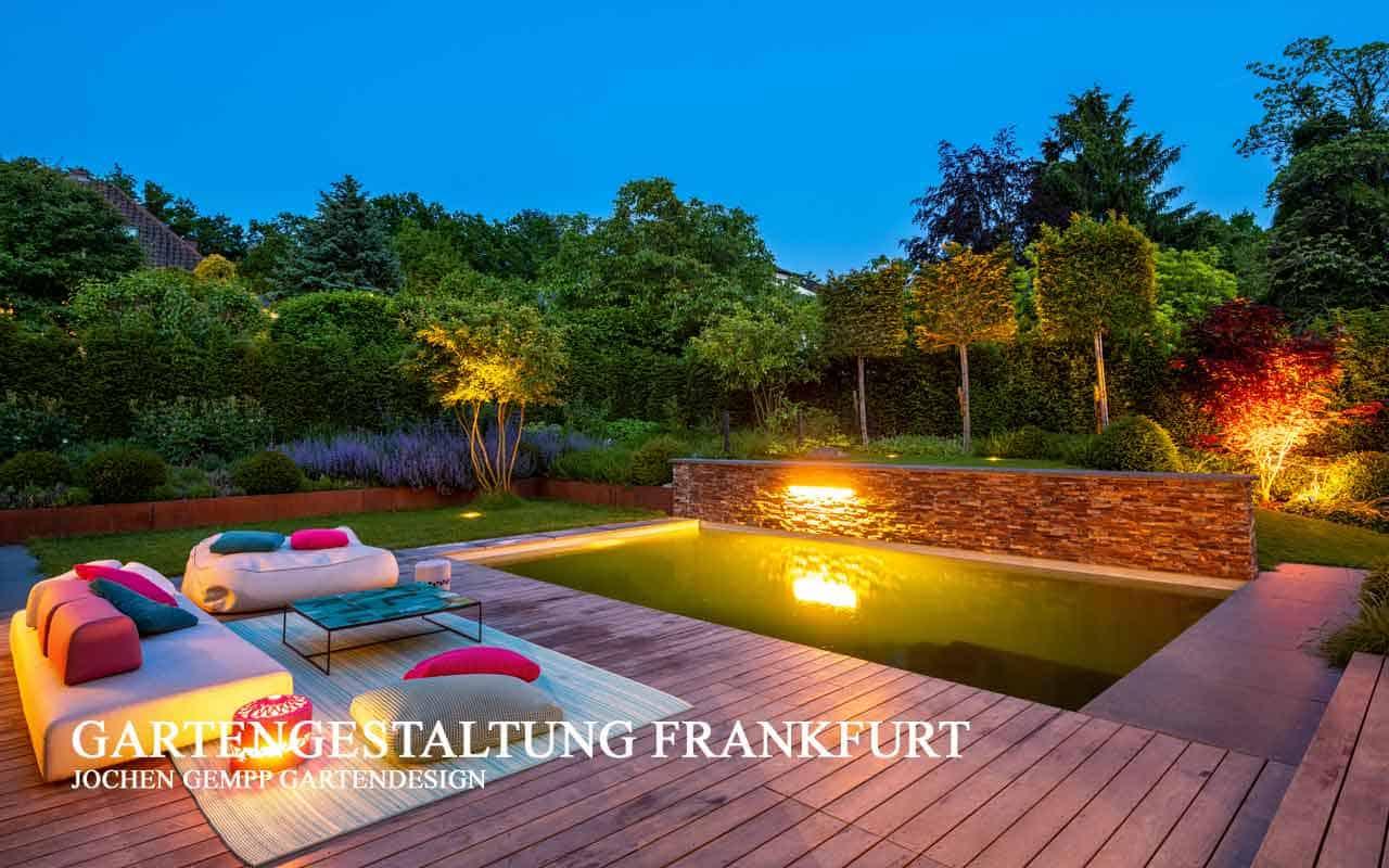 Gartenplanung Gartenbau Gartengestaltung Landschaftsarchitekt Frankfurt Hessen
