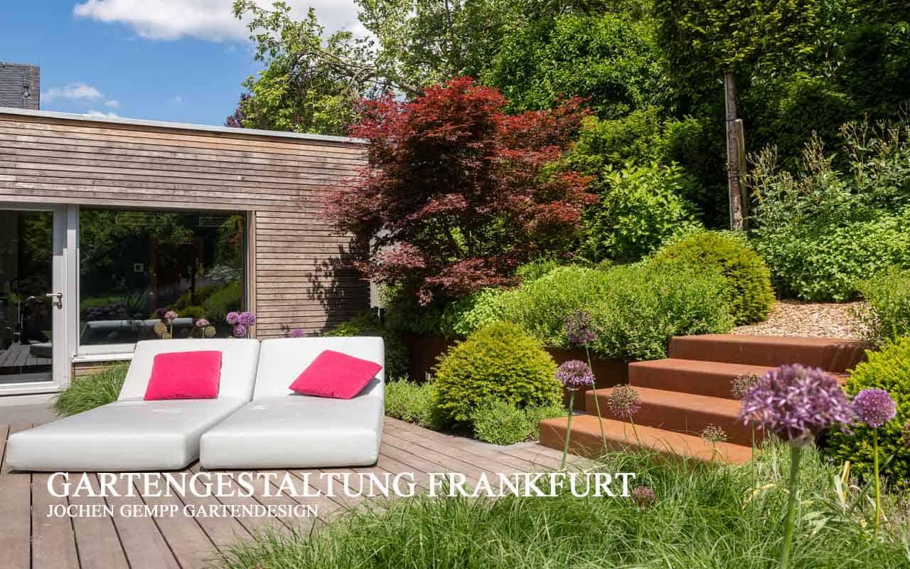 moderne Gartenplanung Gartenarchitektur Gartengestaltung Pool Schwimmteich