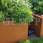 Cortenstahl Hochbeet Gartenbau
