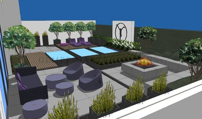 Gartenplanung für Privatgärten