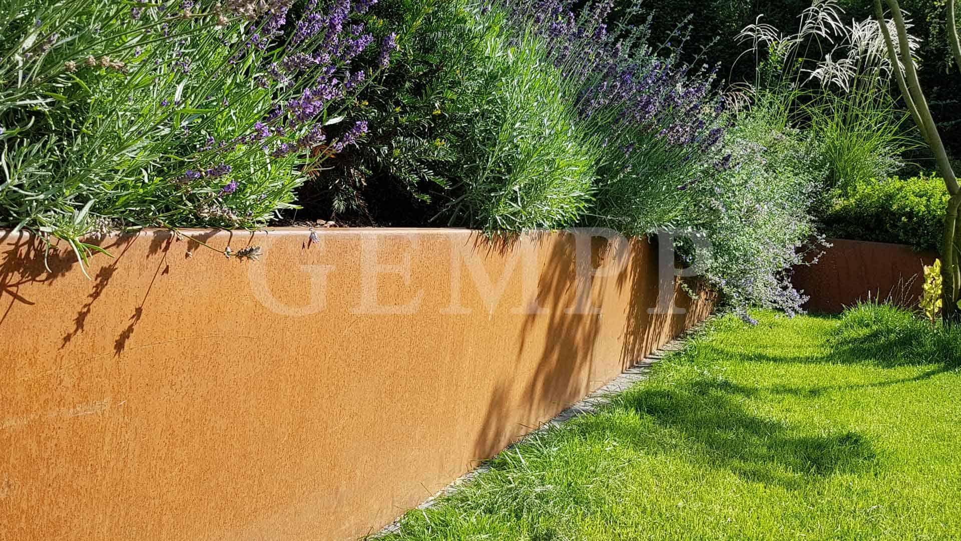 Moderne Gartengestaltung Pflanzbeet