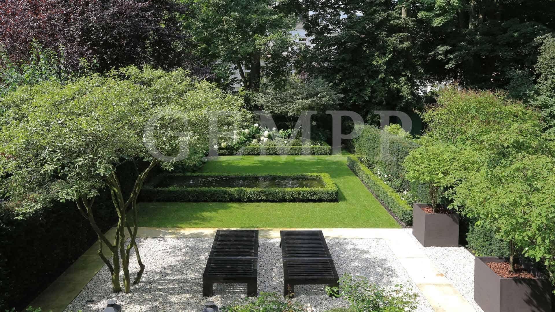Bild Gartengestaltung nachher