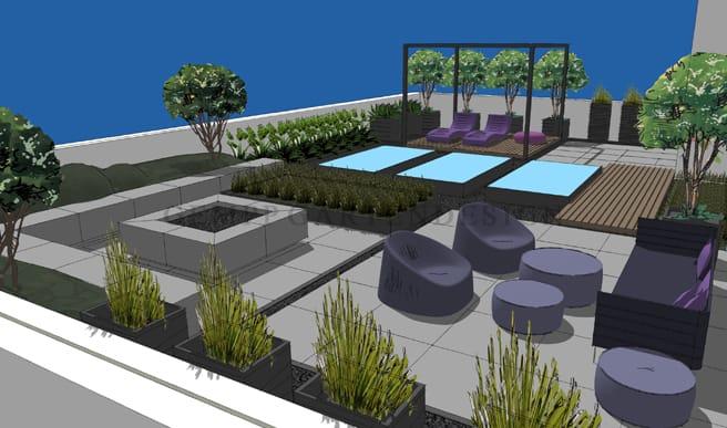 Fernplanung Garten