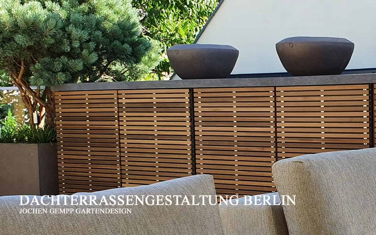 moderne Dachterrassengestaltung planen und gestalten lassen Berlin