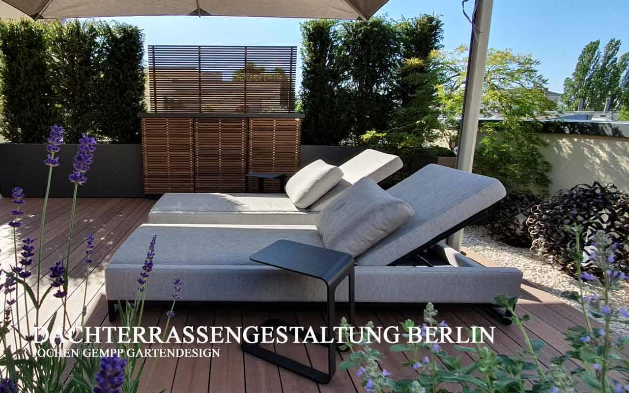 Dachterrassenplanung Dachterrassengestaltung Berlin