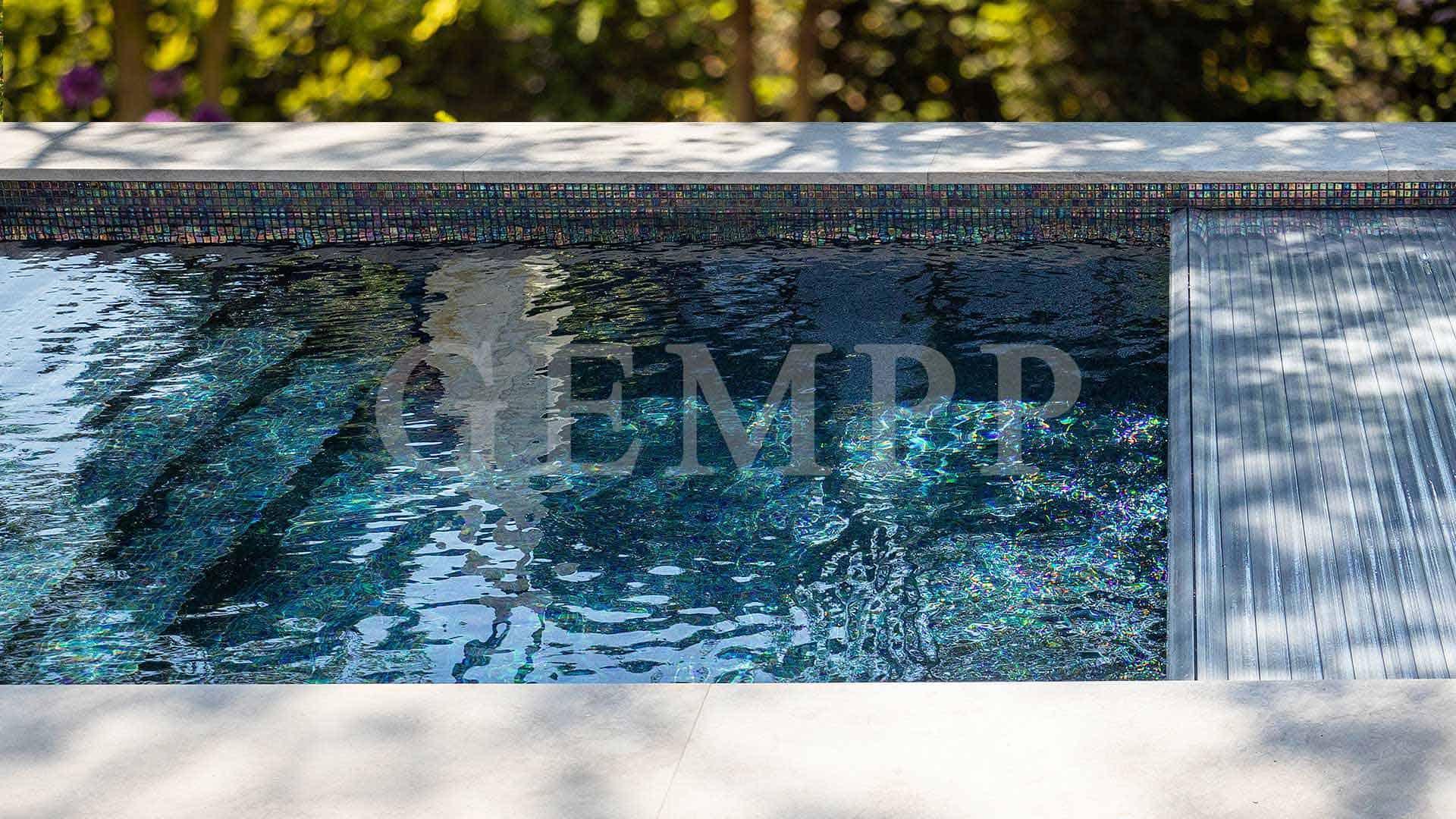 Poolplanung Garten Riviera