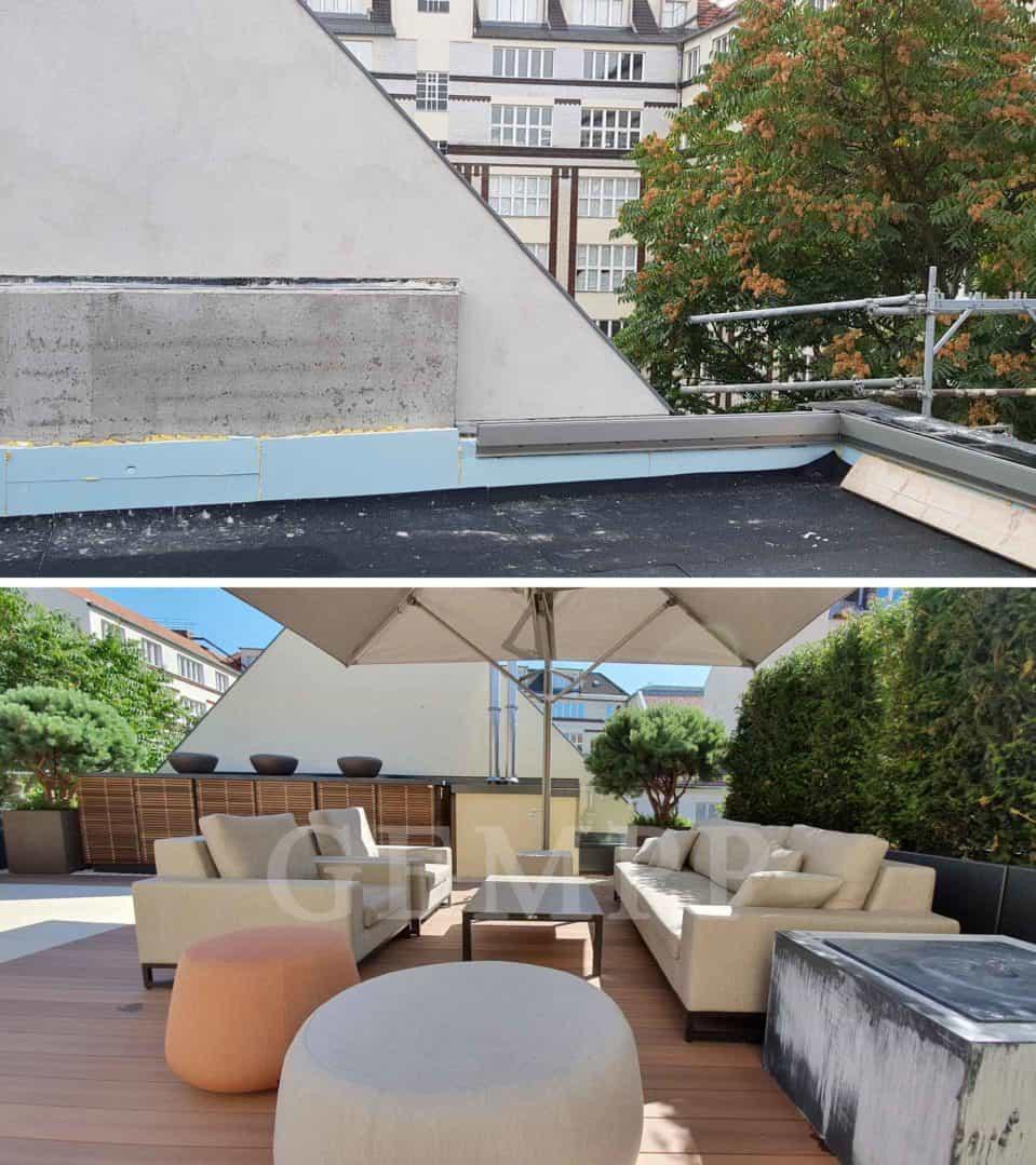 Dachterrassengestaltung Gartenarchitekt Berlin