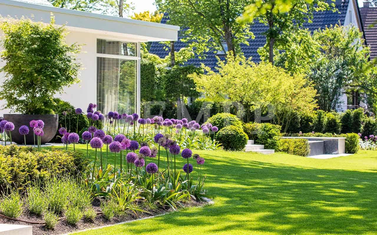 Privatgärten gestalten Privatgartengestaltung