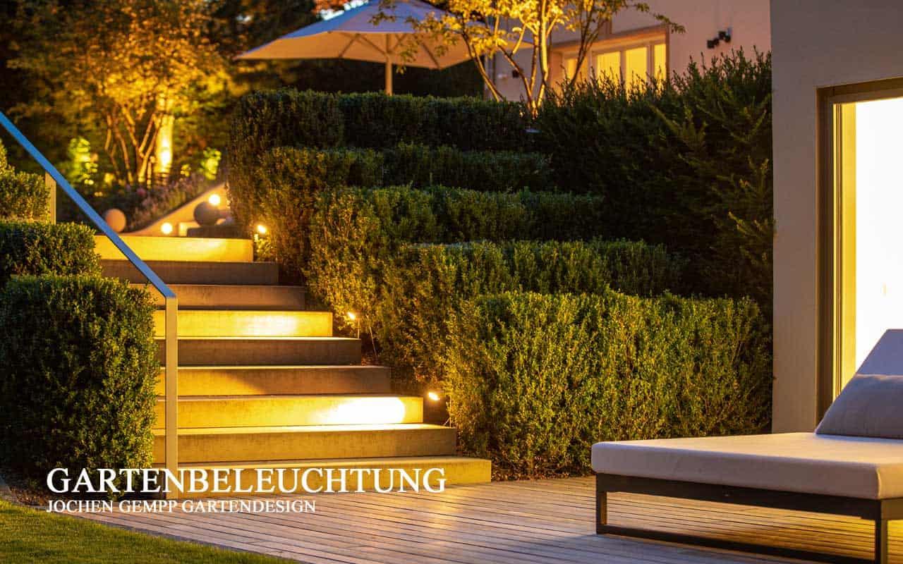 Gartenbeleuchtung Privatgarten