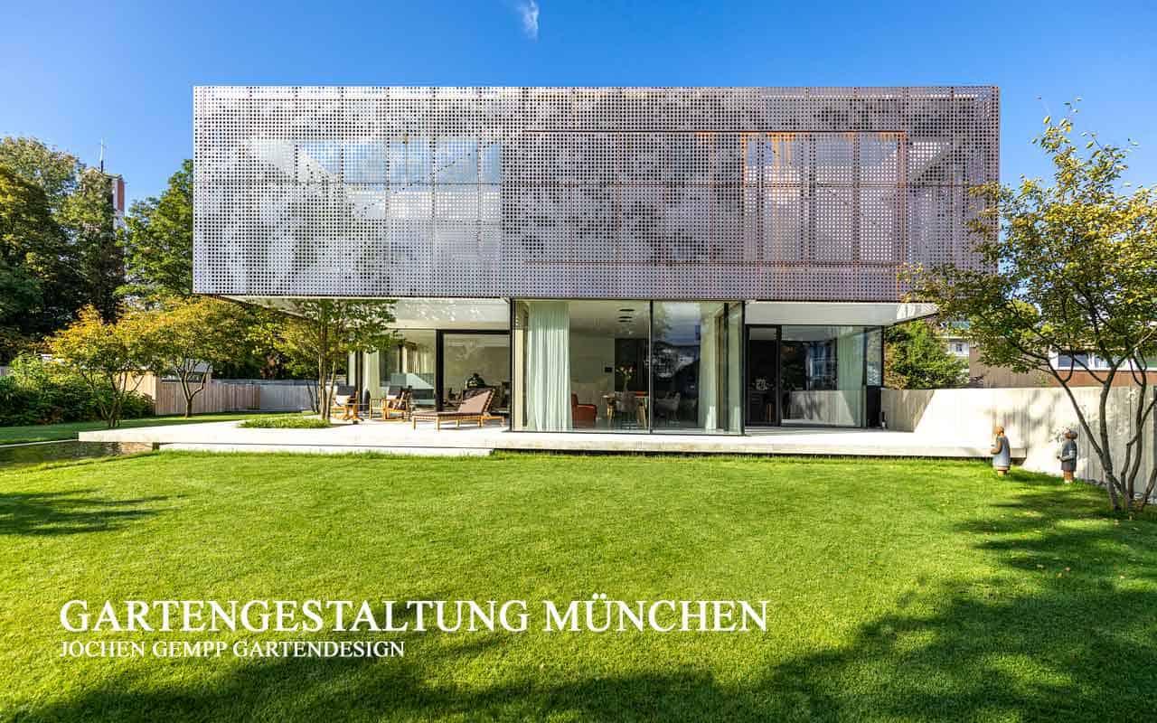 Exklusives modernes Gartendesign München