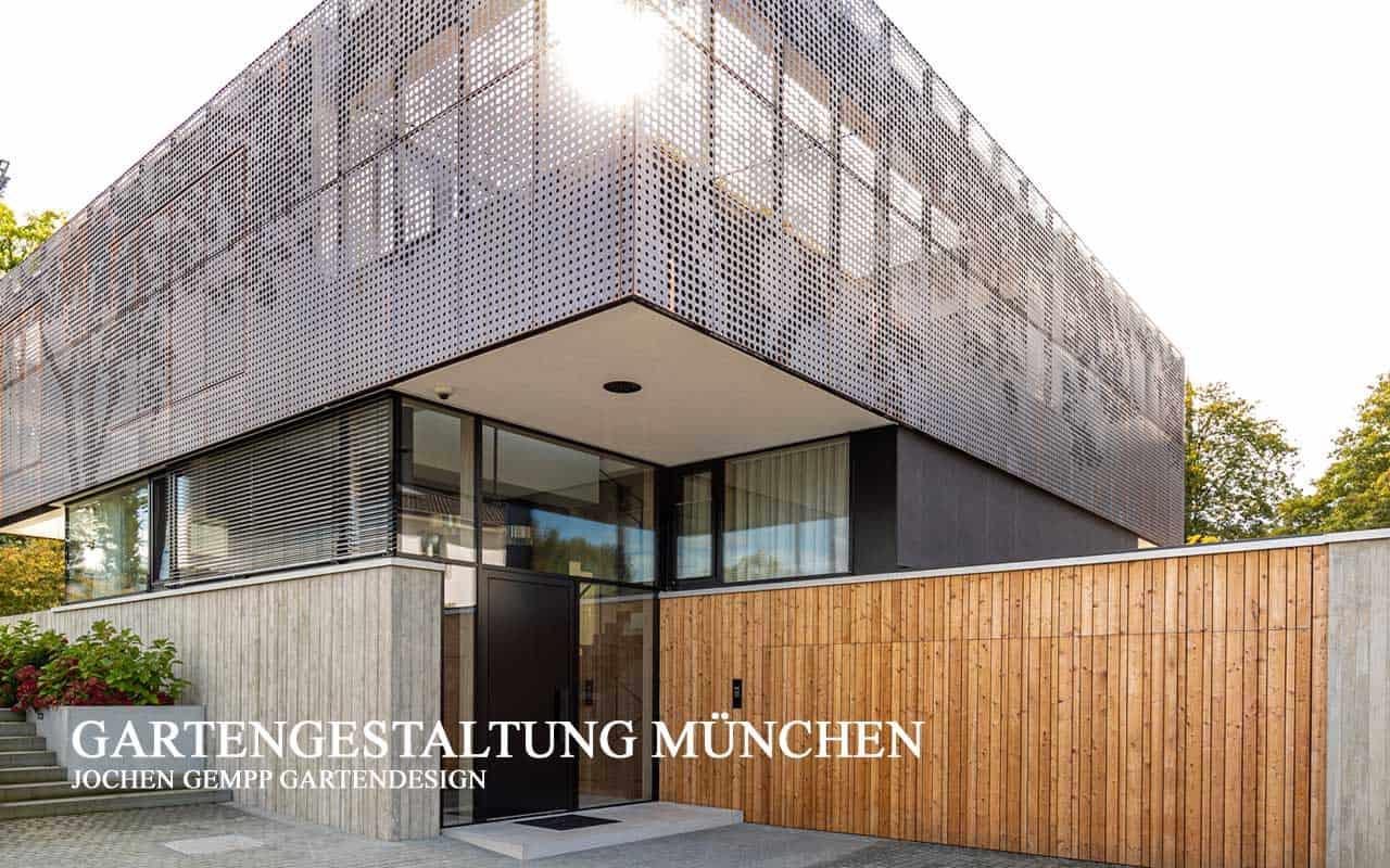 Moderne Gartengestaltung Gartenplanung München Bayern