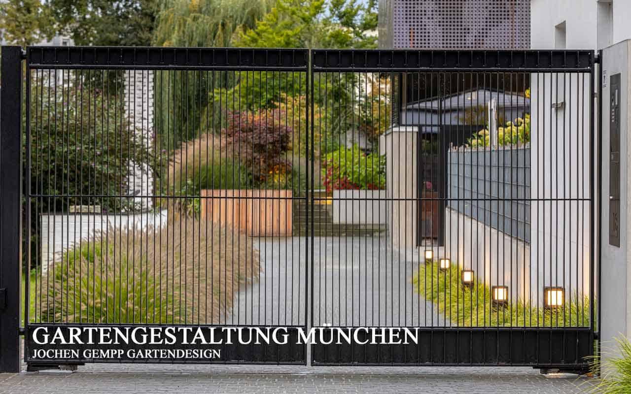 Moderne Gartengestaltung München Oberbayern