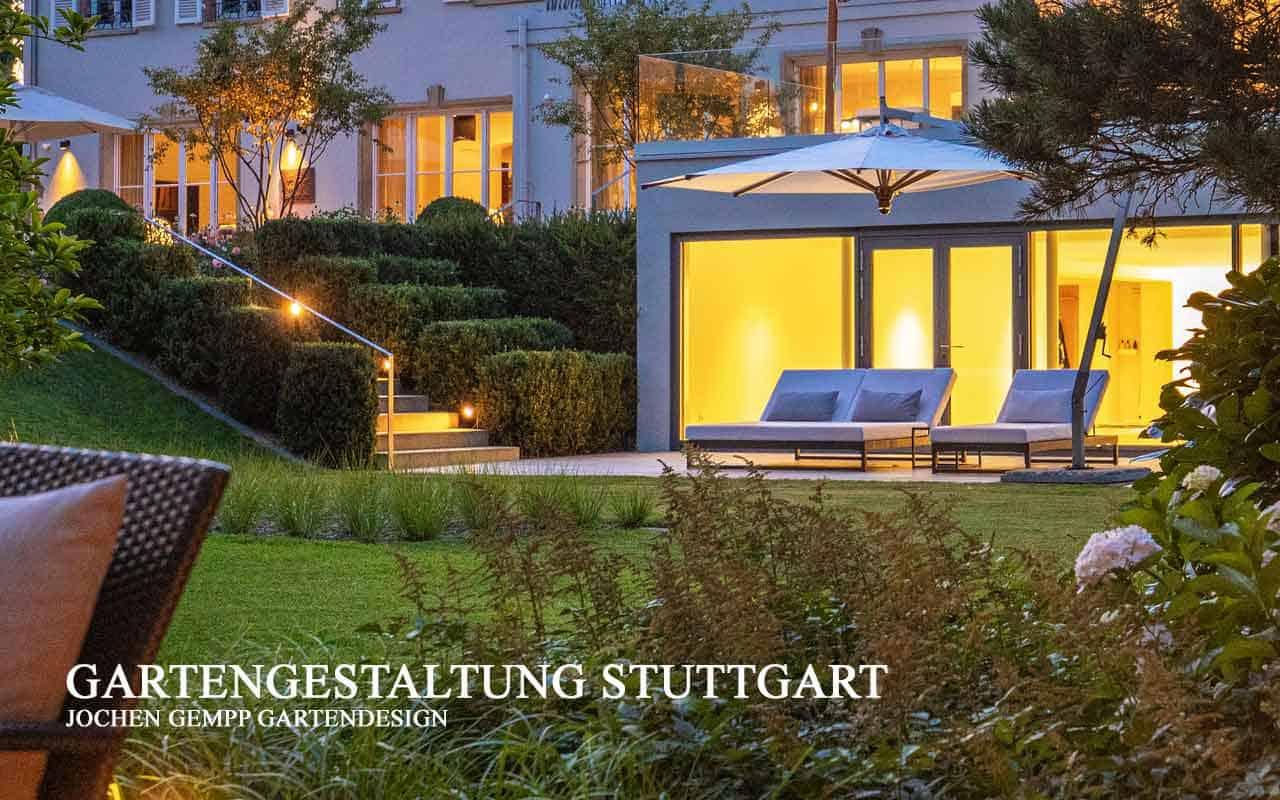 Gartengestaltung Villengarten Stuttgart Zeitlose Gartenarchitektur