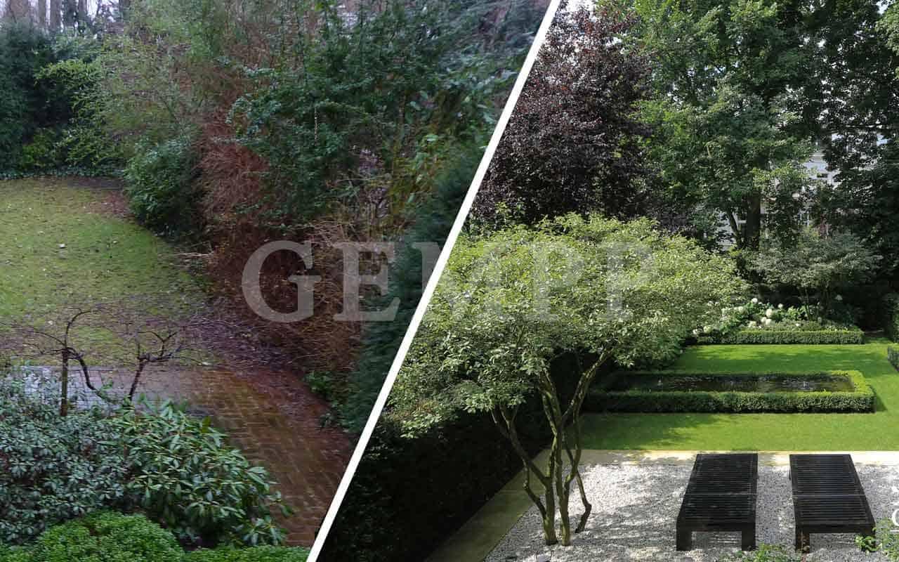 Vorher Nachher Bilder Garten