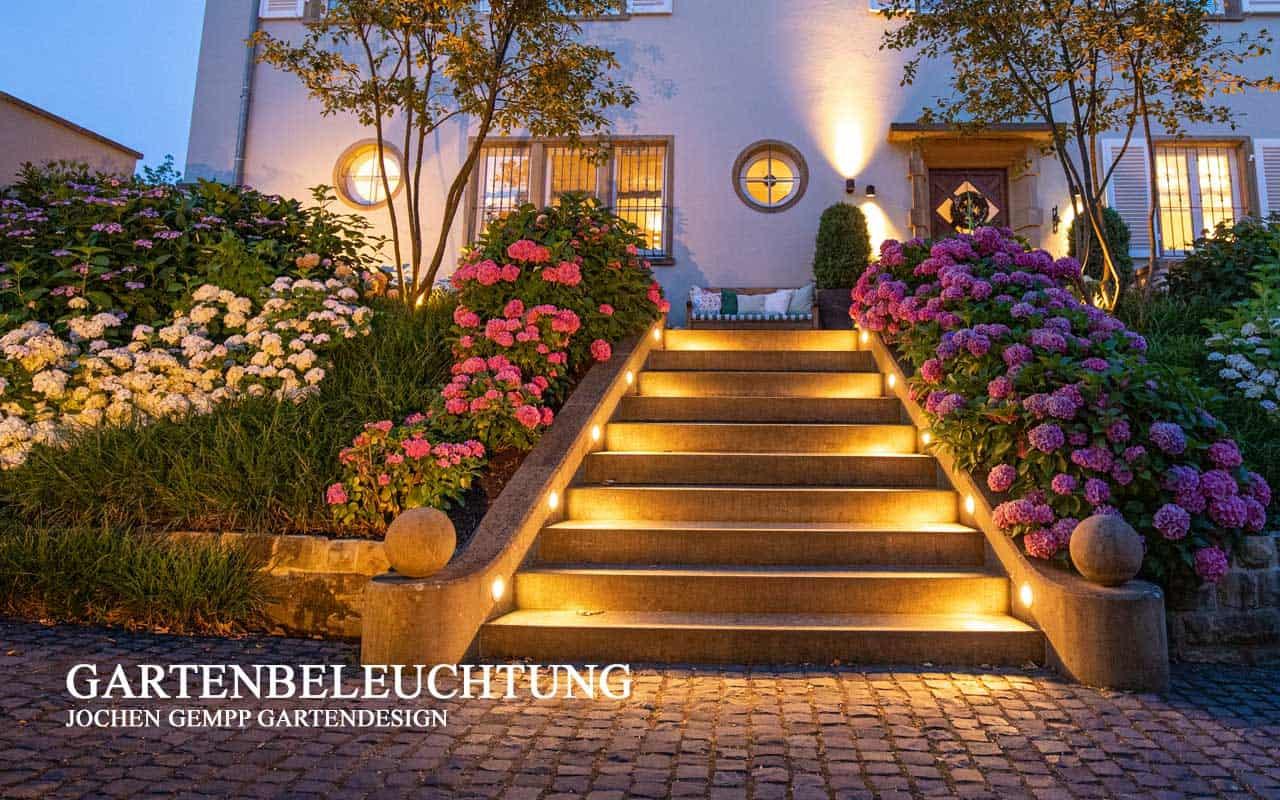 Gartenbeleuchtung Außenbeleuchtung Lichtplanung